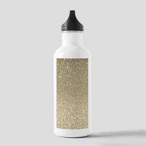 art deco gold glitter Stainless Water Bottle 1.0L