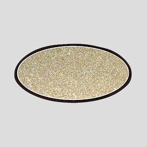 art deco gold glitter Patch