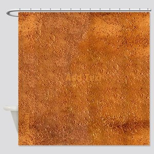 Cool Chic New Copper Look Shower Curtain