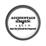 AH! Dont Be Scared! Be Prepared! Wall Clock