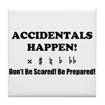 AH! Dont Be Scared! Be Prepared! Tile Coaster