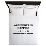AH! Dont Be Scared! Be Prepared! Queen Duvet