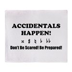 AH! Dont Be Scared! Be Prepared! Throw Blanket