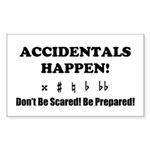 AH! Dont Be Scared! Be Prepared! Sticker