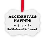 AH! Dont Be Scared! Be Prepared! Ornament