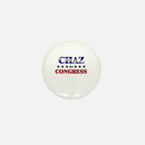 CHAZ for congress Mini Button