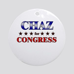 CHAZ for congress Ornament (Round)