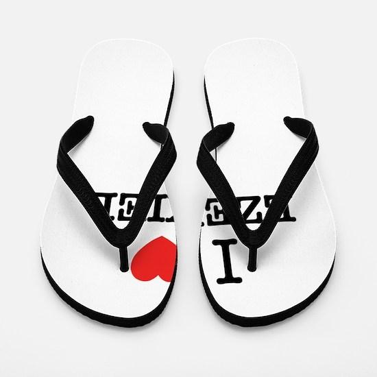 I Love EZEKIEL Flip Flops