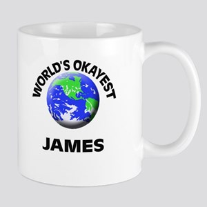 World's Okayest James Mugs
