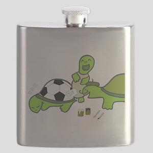 Turtles Prank Flask