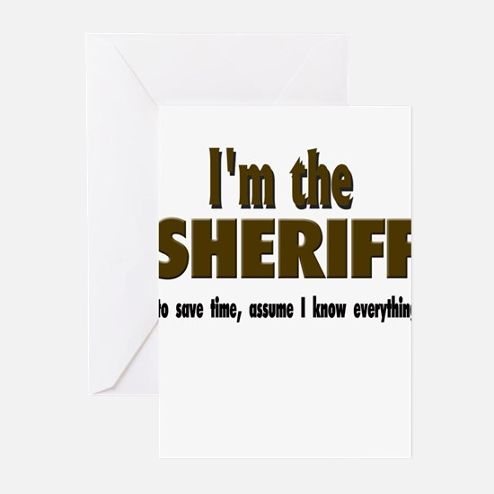 I'm the Sheriff Greeting Cards (Pk of 10)