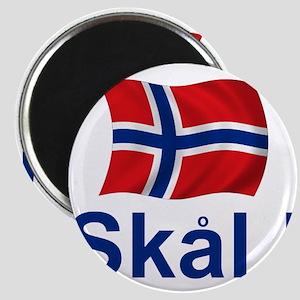 Norwegian Skal! Magnets