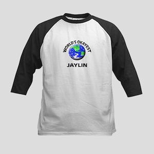 World's Okayest Jaylin Baseball Jersey