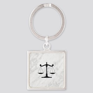 Scales of Justice Keychains