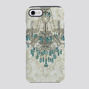 Paris beige damask chandelie iPhone 8/7 Tough Case