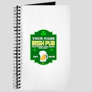 Irish Pub sign Journal