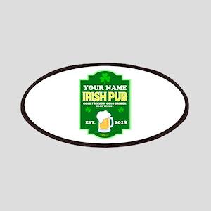 Irish Pub sign Patch