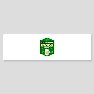 Irish Pub sign Sticker (Bumper)