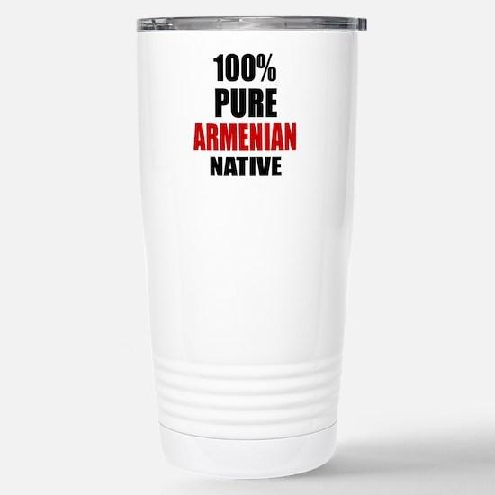 100 % Pure Armenian Nat Stainless Steel Travel Mug
