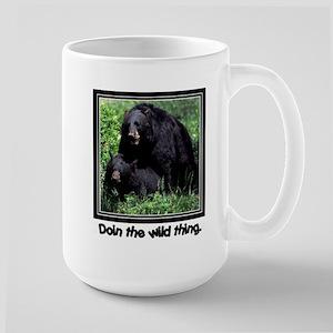 Wild Thing Bear Large Mug