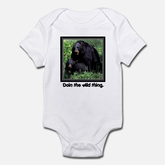 Wild Thing Bear Infant Bodysuit