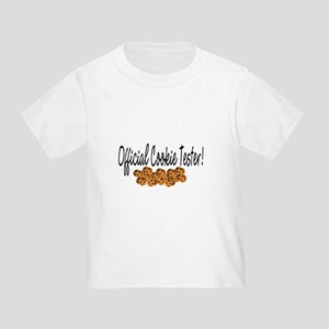 """Official Cookie Tester"" Toddler T-Shirt"