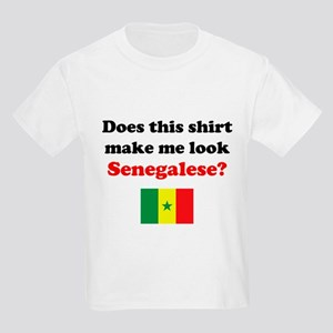 Make Me Look Senegalese Kids Light T-Shirt