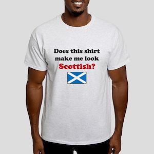 Make Me Look Scottish Light T-Shirt