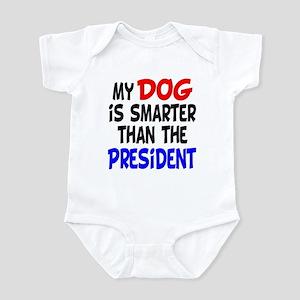 Dog Smarter Than-2 Infant Bodysuit
