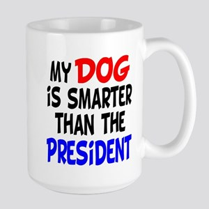 Dog Smarter Than-2 Large Mug