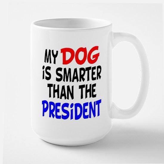 Dog Smarter Than-2 Large Mug