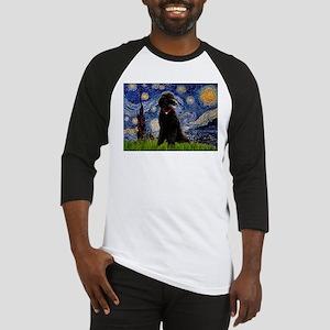 Starry / Std Poodle(bl) Baseball Jersey
