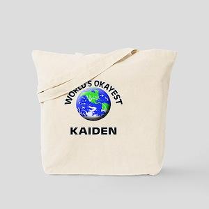 World's Okayest Kaiden Tote Bag