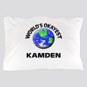 World's Okayest Kamden Pillow Case