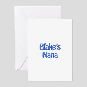 Blake's Nana Greeting Card
