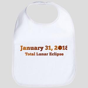 Total Lunar Eclipse. Blood Moon. Family A Baby Bib