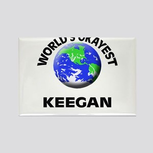 World's Okayest Keegan Magnets