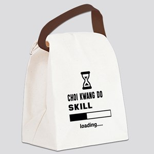 Choi Kwang-Do Skill Loading..... Canvas Lunch Bag
