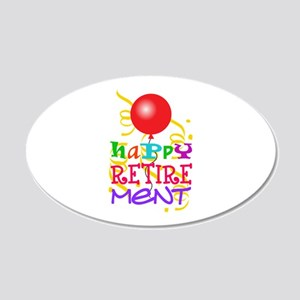 Happy Retirement Wall Decal