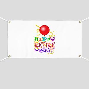 Happy Retirement Banner