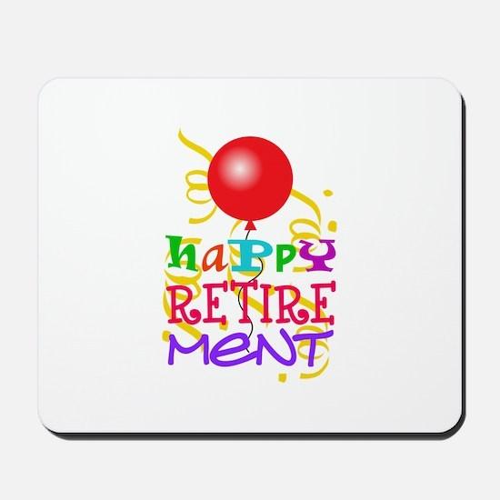 Happy Retirement Mousepad