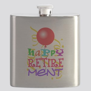 Happy Retirement Flask