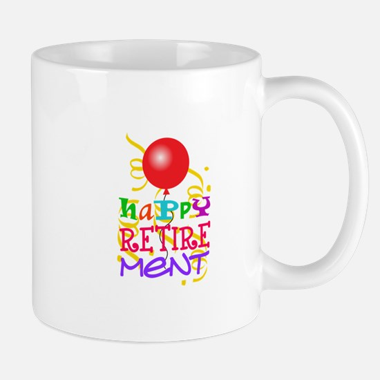 Happy Retirement Mugs