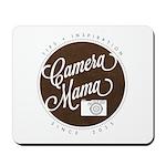 Camera Mama Logo Mousepad