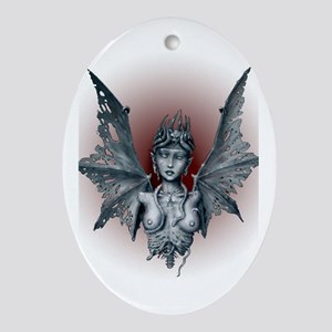 Decaying Lilith Oval Ornament