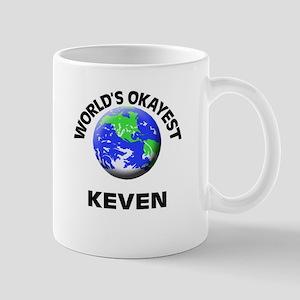 World's Okayest Keven Mugs