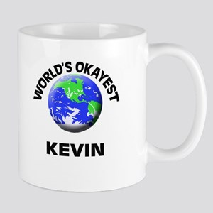 World's Okayest Kevin Mugs
