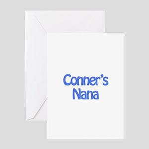Conner's Nana Greeting Card