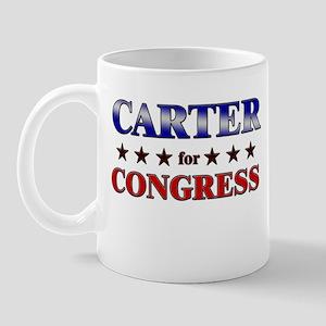 CARTER for congress Mug