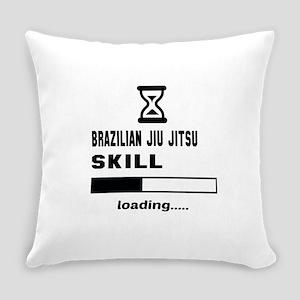 Brazilian Jiu-Jitsu Skill Loading. Everyday Pillow
